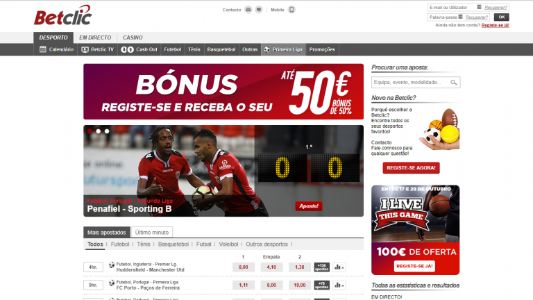 Betclic – apostas desportivas e casino online